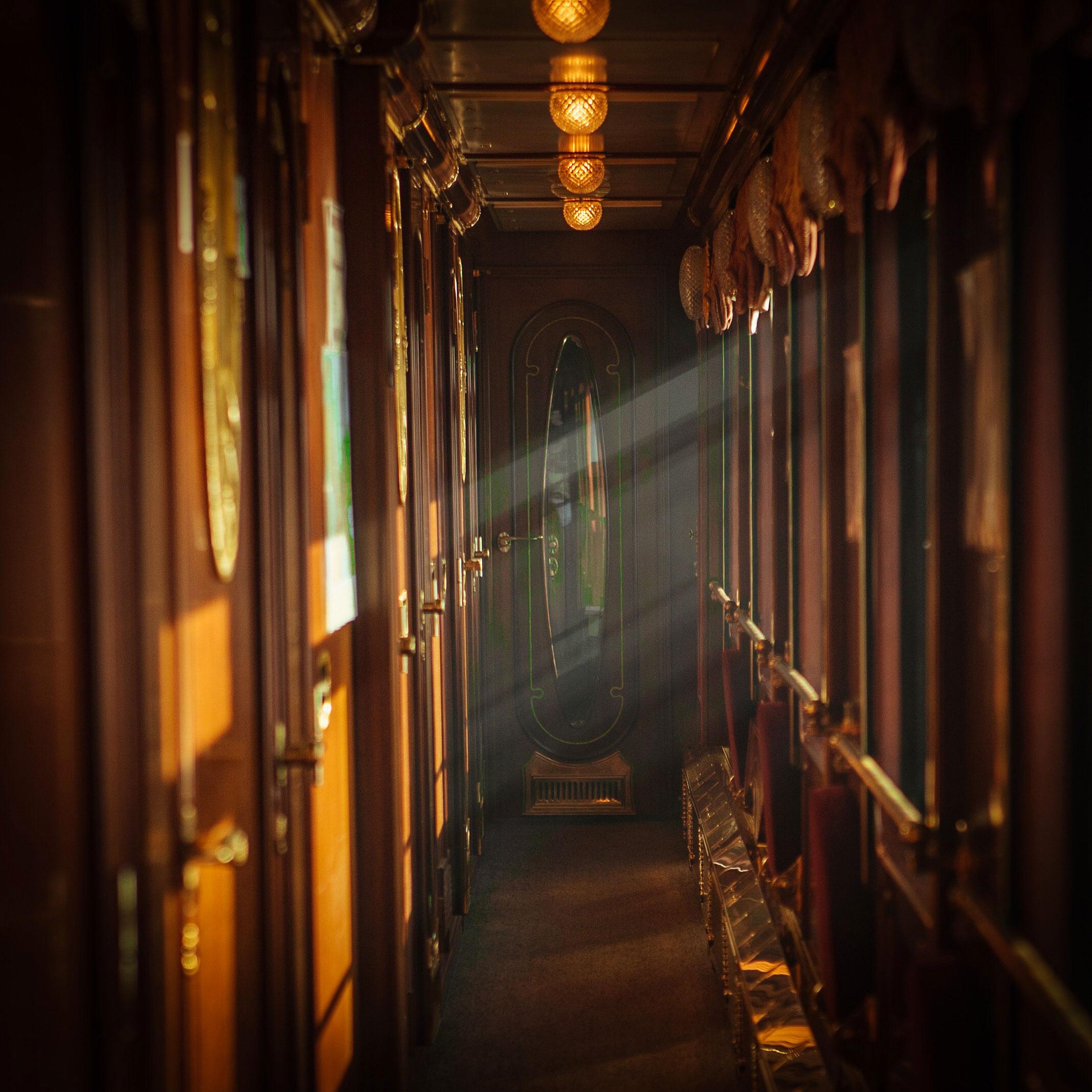 Transsibirische Eisenbahn Wagon