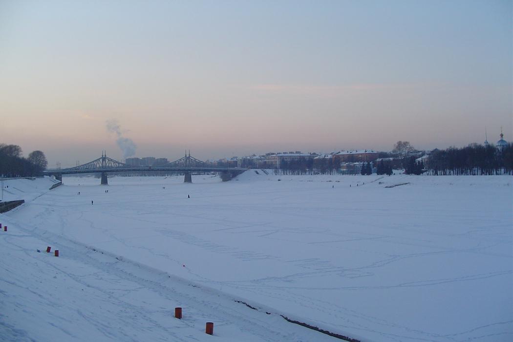 Wolga Fluss