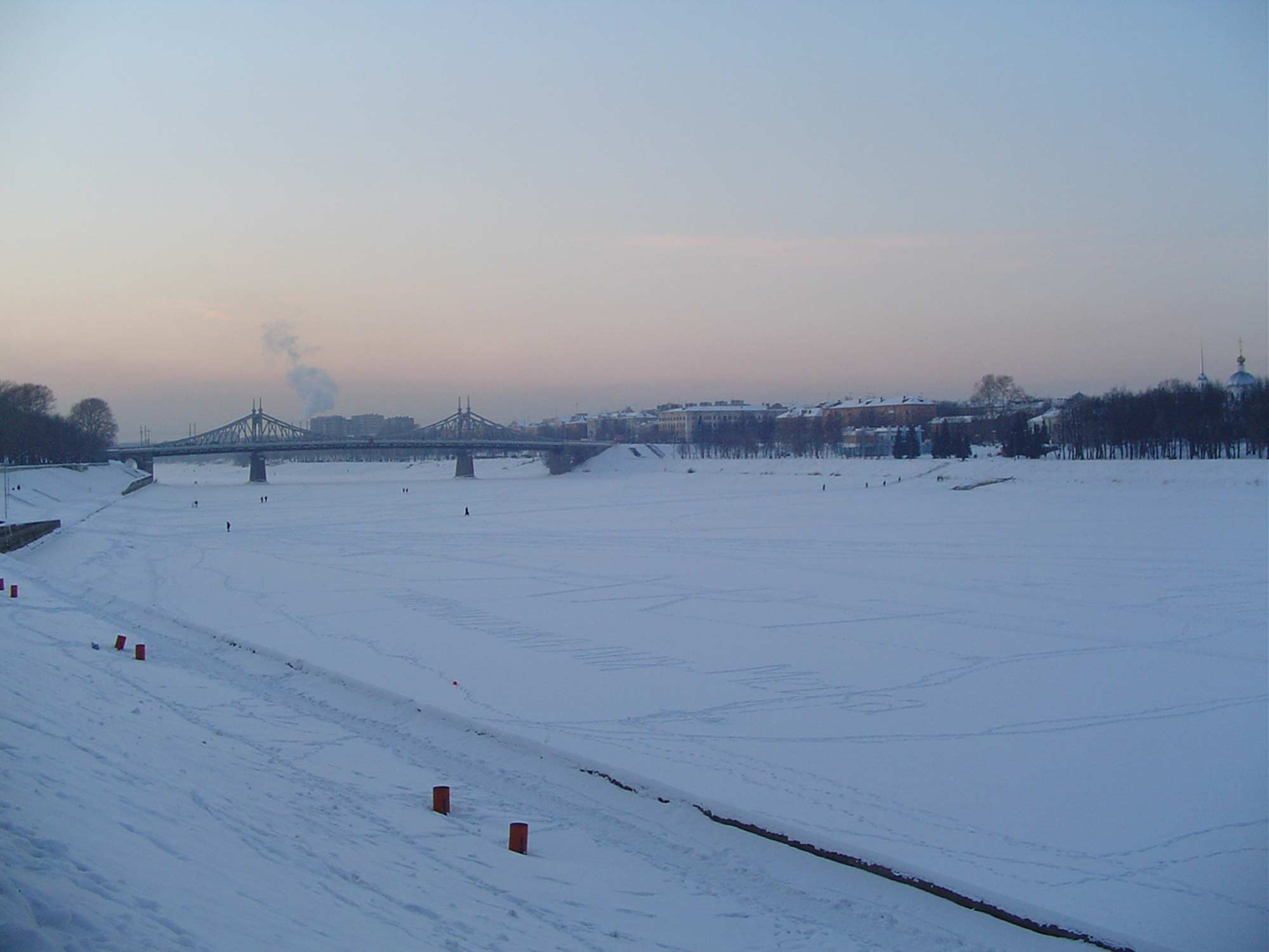 Wolga im Winter
