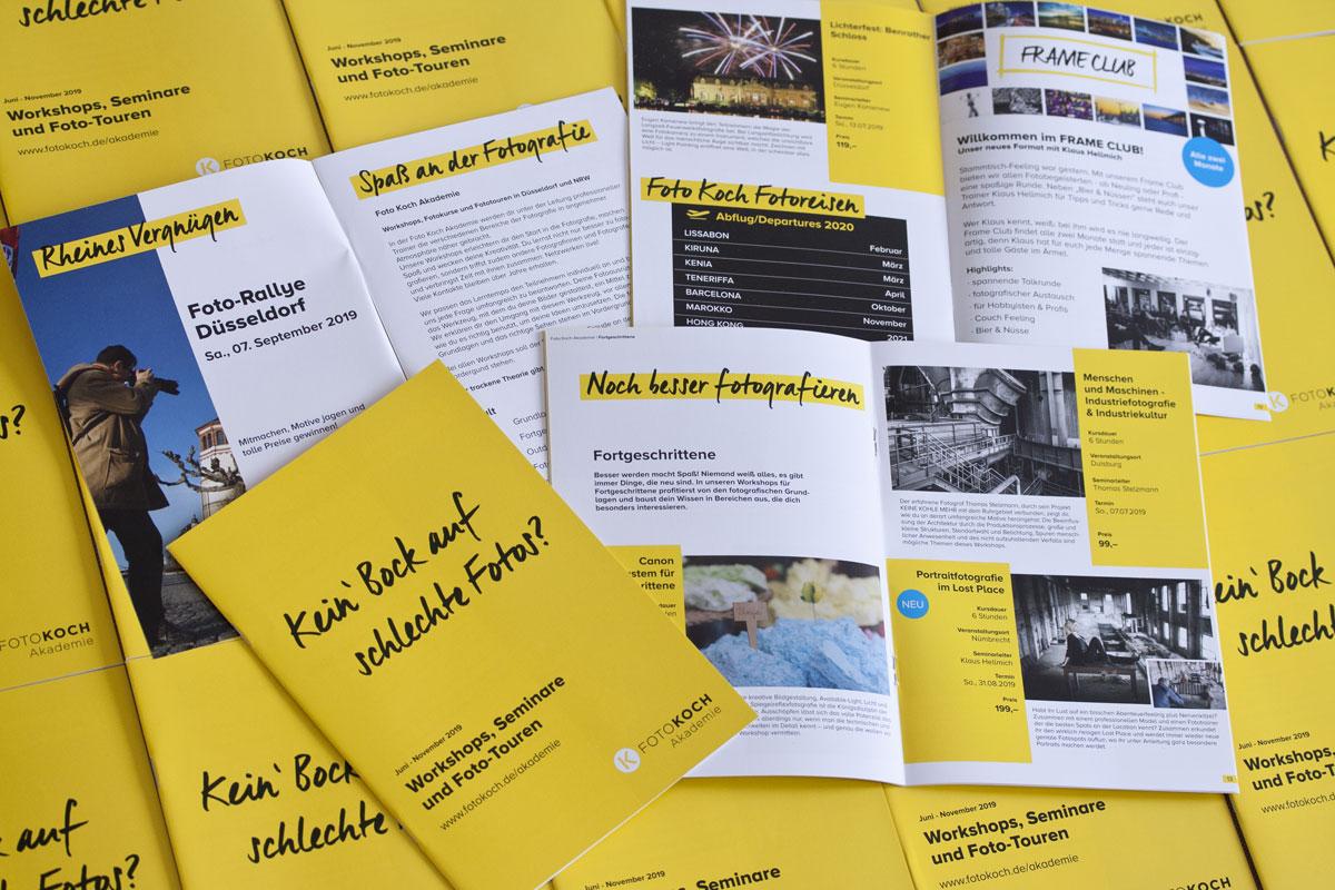 Workshops in der Foto Koch Akademie