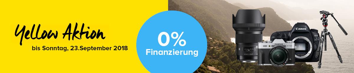 0% Finanzierung Aktion
