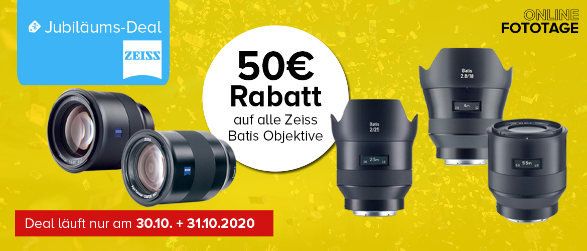 Zeiss Batis Jubiläums-Deal