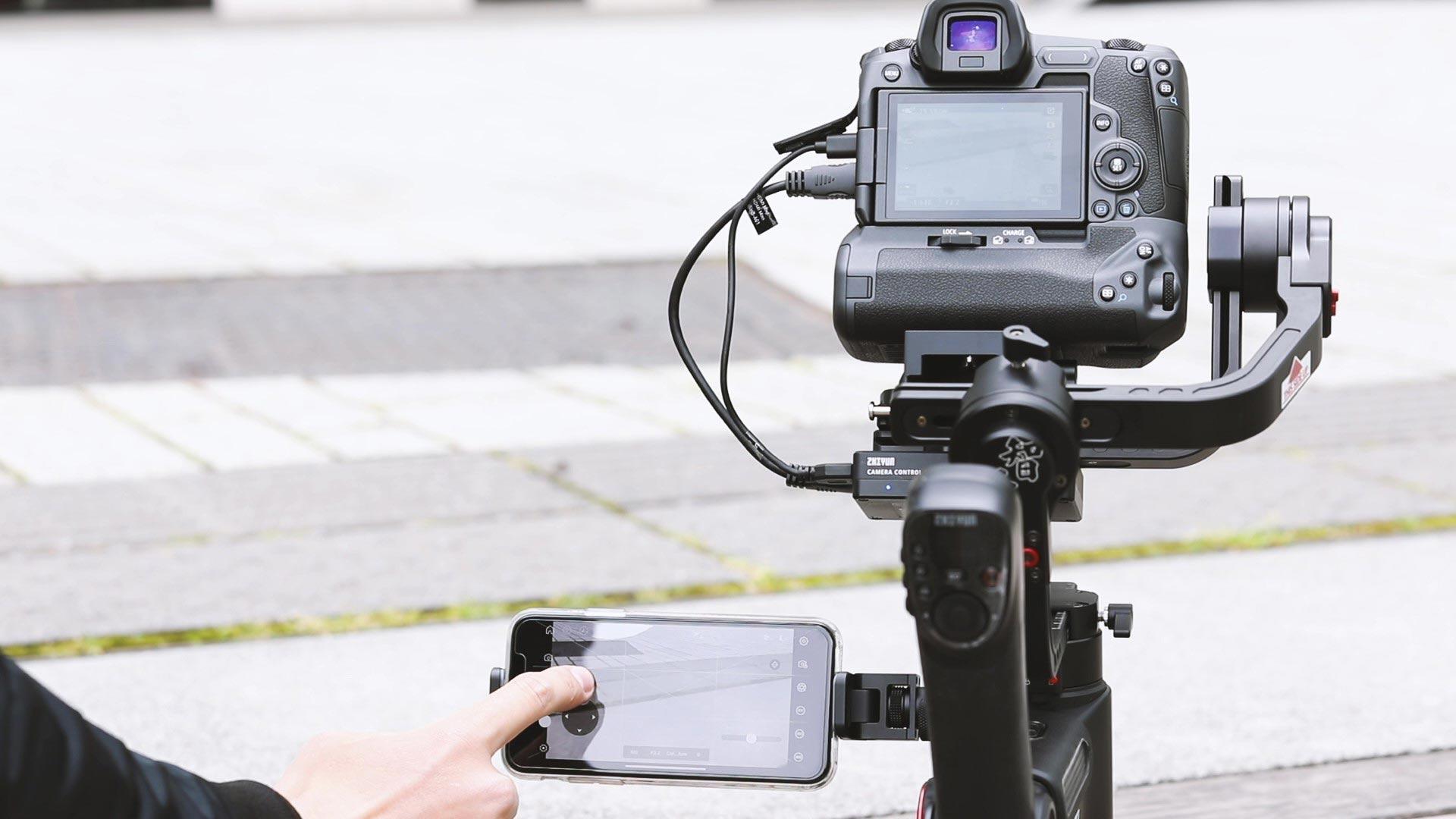 Gimbals für Systemkameras und DSLR
