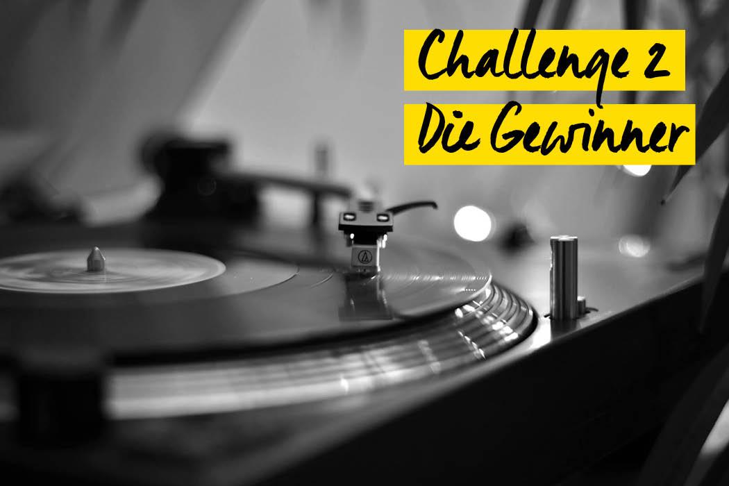 Zweite Challenge Gewinner